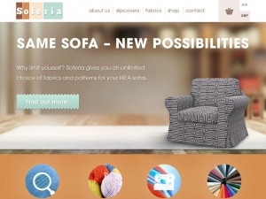 Sofa cover that sidesteps limitations